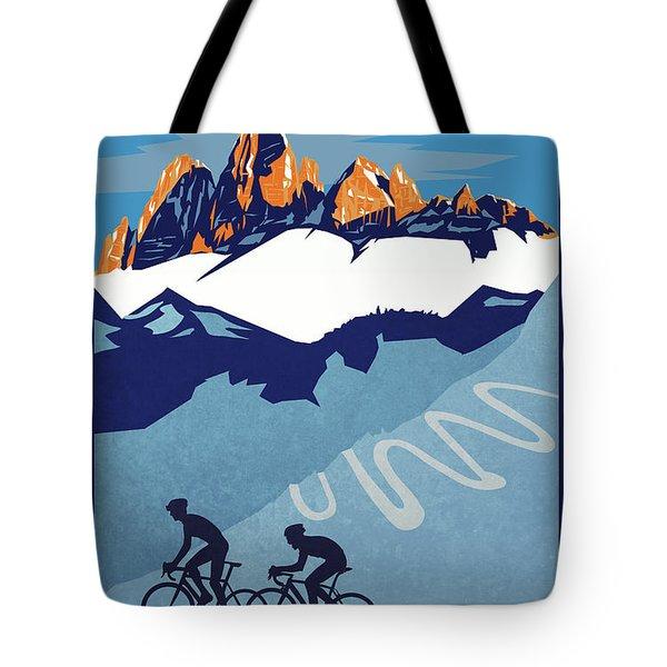 Giro D'italia Cycling Poster Tote Bag