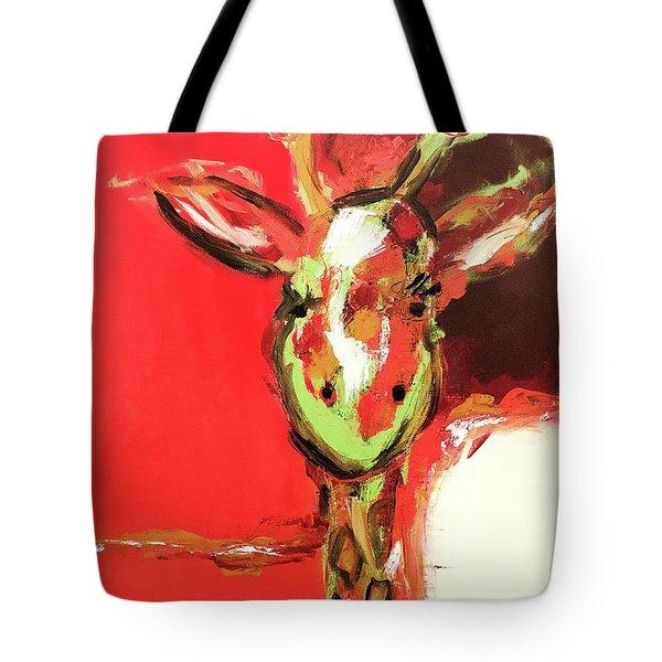 Giselle The Giraffe Tote Bag