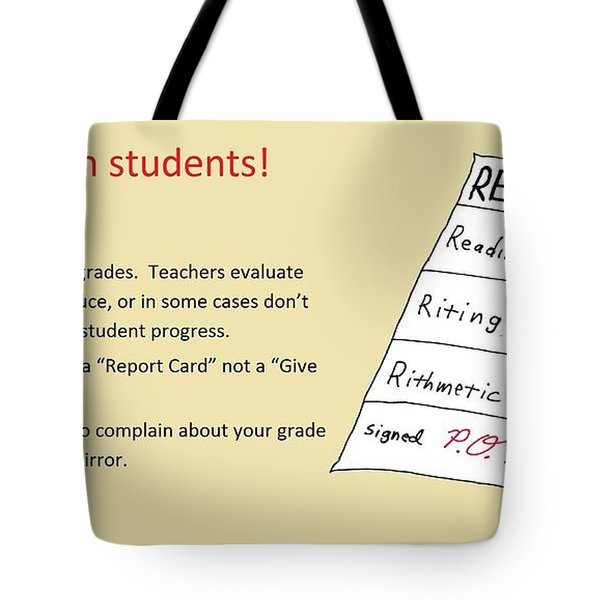 Give Card Tote Bag by David S Reynolds