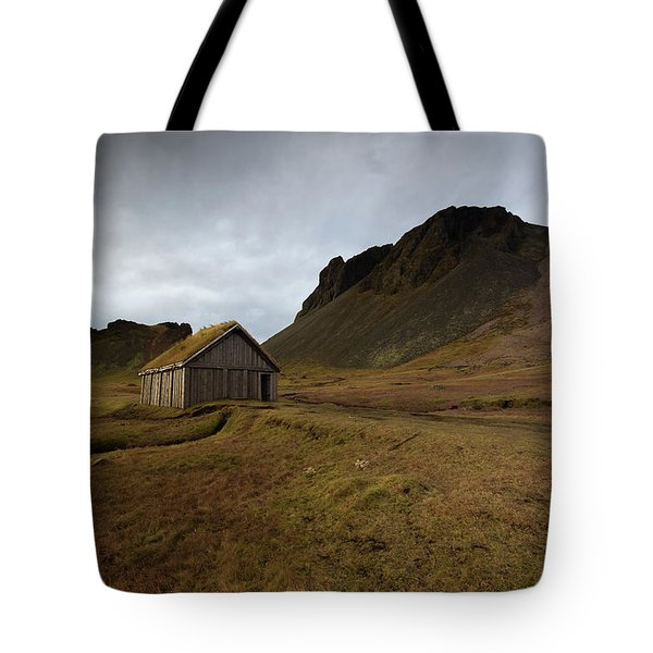 Give Me Shelter Tote Bag