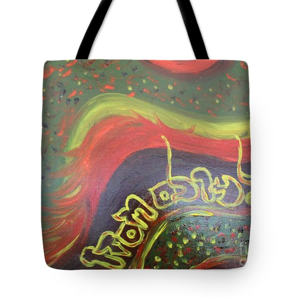 Give Thanks To The Lord  Tote Bag