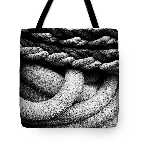 Give Them Some Rope Tote Bag by Skip Hunt