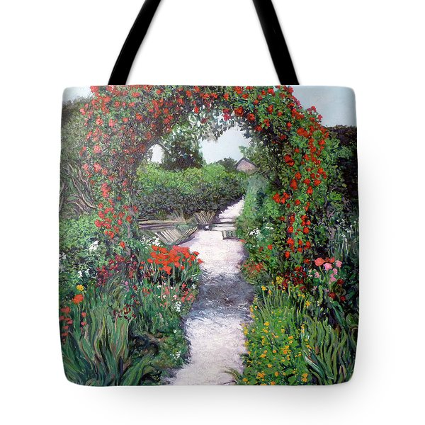 Giverney Garden Path Tote Bag