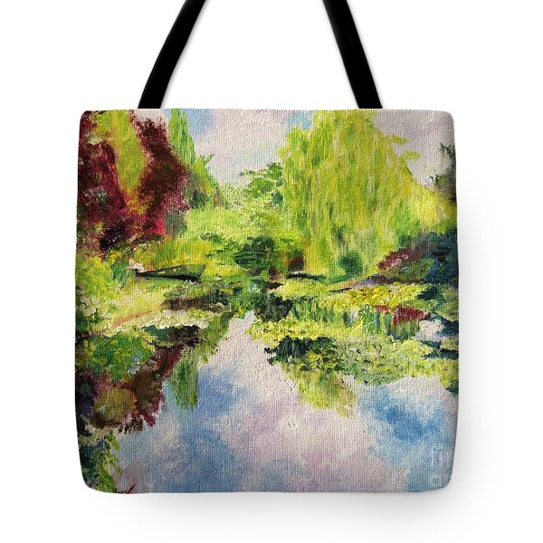 Giverney Tote Bag