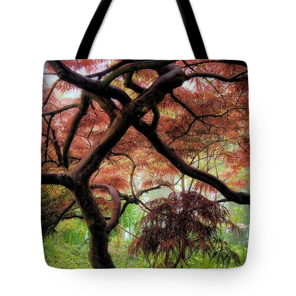 Giverny Gardens Tote Bag by Jim Hill