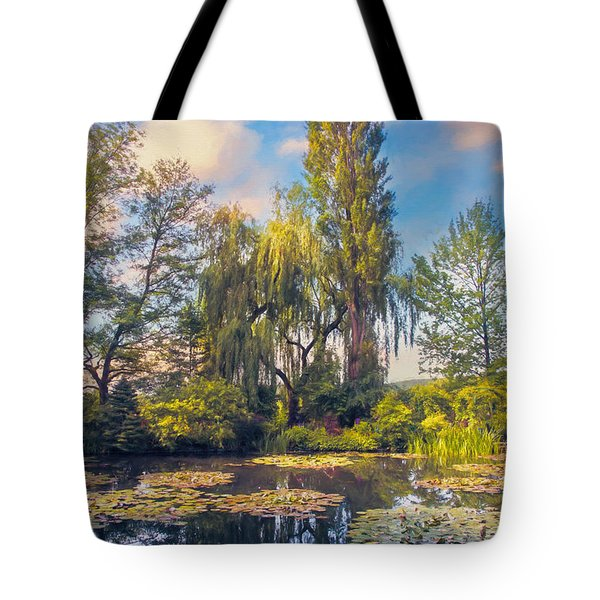 Tote Bag featuring the photograph Giverny by John Rivera