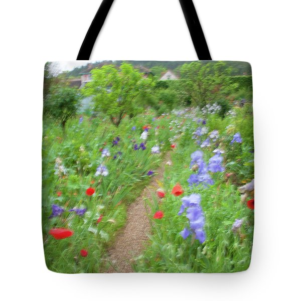 Giverny Monet's Garden Tote Bag