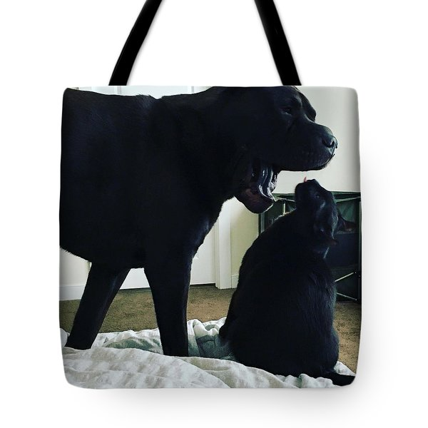 Giving Orders Tote Bag