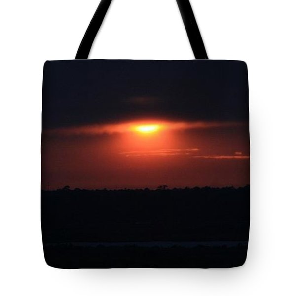 Giving Way To The Night Tote Bag by John Glass