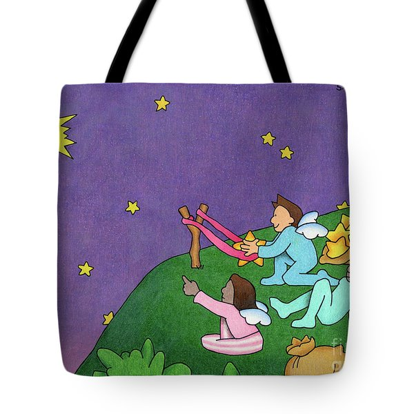 Giving Wishes Wings Tote Bag