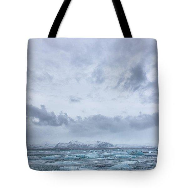 Glacial Lagoon Iceland Tote Bag