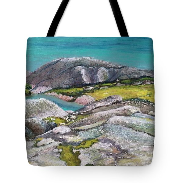 Glacial Lake Tote Bag