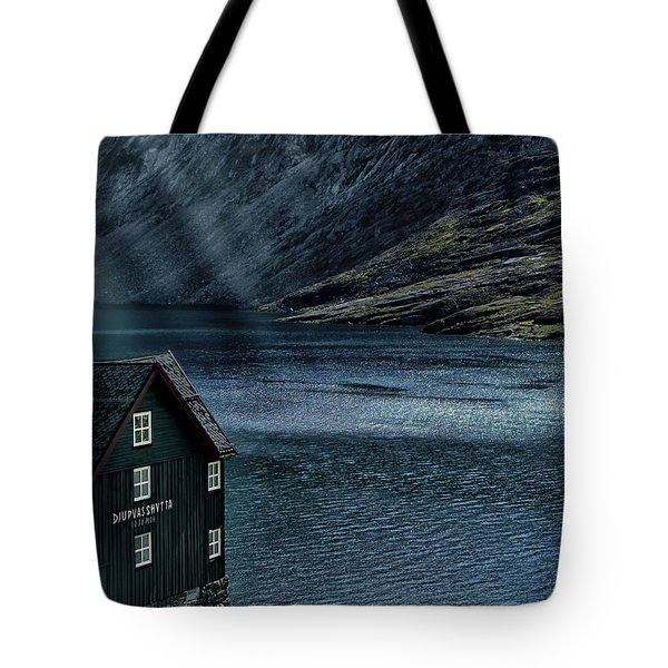 Glacial Lake Tote Bag by Jim Hill