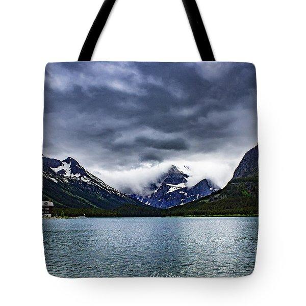 Glacial Getaway Tote Bag