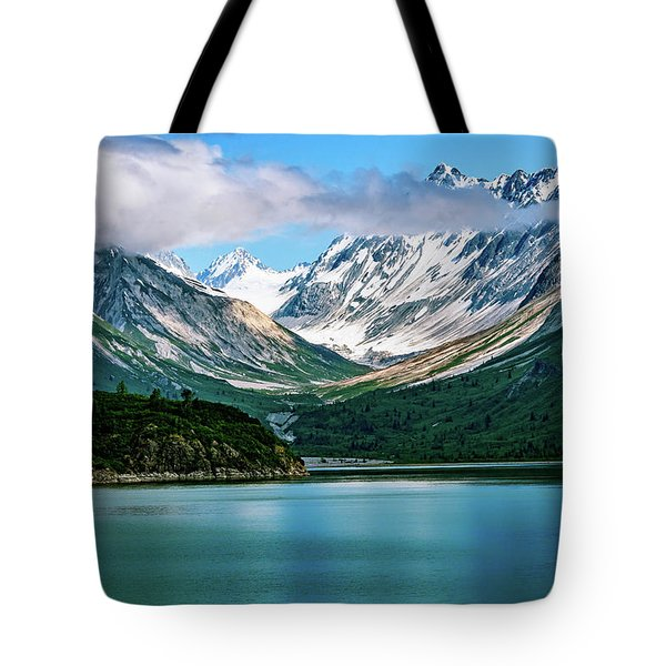 Tote Bag featuring the photograph Glacial Valley by John Hight