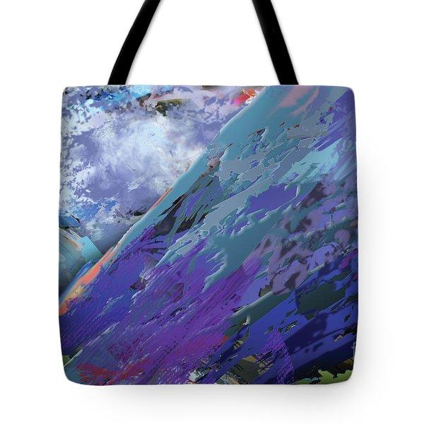 Glacial Vision Tote Bag