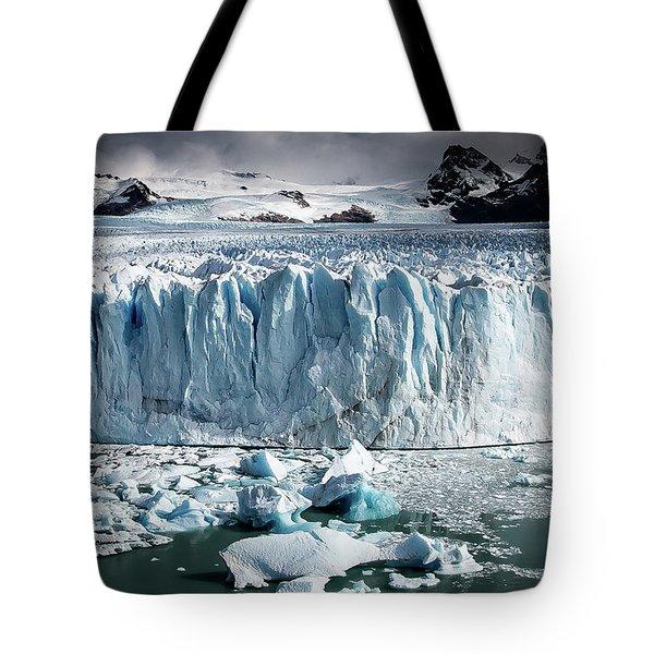 Glaciar 003 Tote Bag