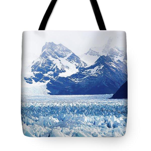 Glaciar 55 Tote Bag