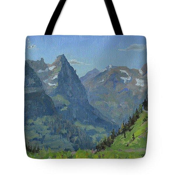 Glacier Afternoon Tote Bag