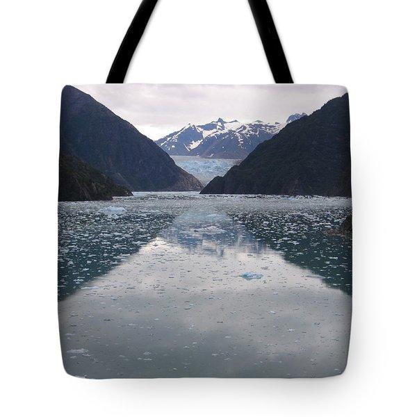 Glacier Blues Tote Bag