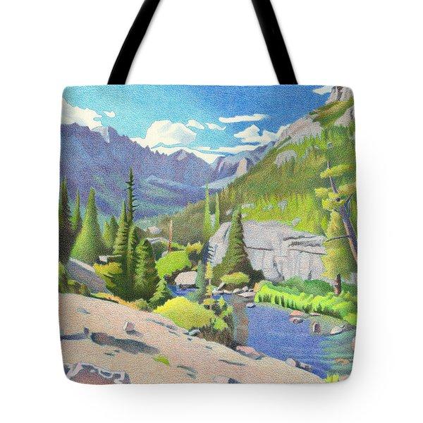Glacier Gorge Tote Bag