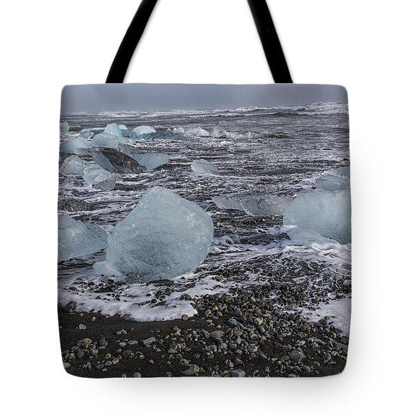Glacier Ice 3 Tote Bag