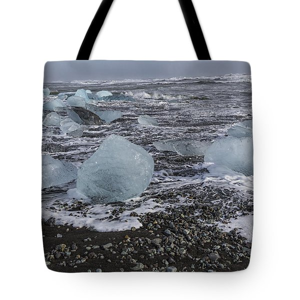 Glacier Ice 3 Tote Bag