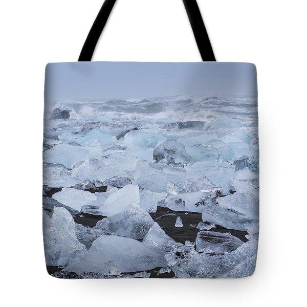 Glacier Ice Tote Bag