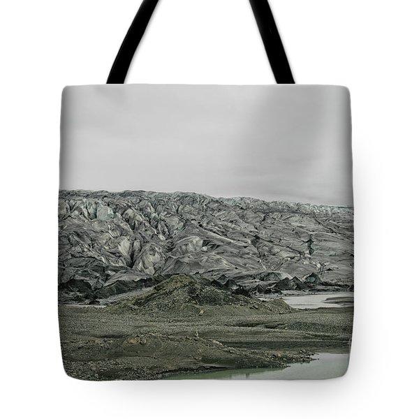 Glacier In Iceland Tote Bag