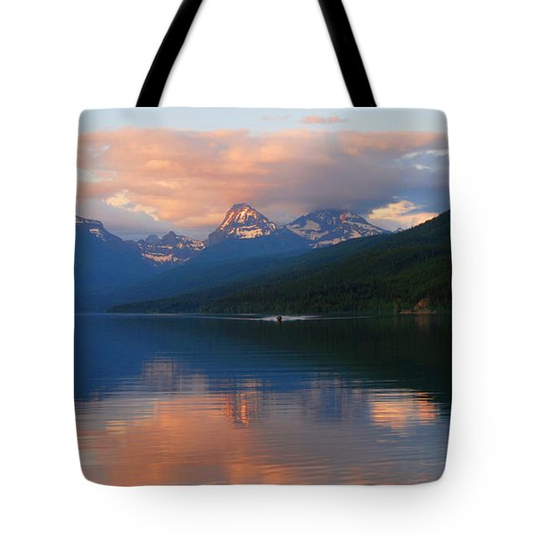 Glacier Lake Tote Bag