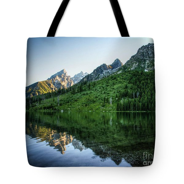 Tote Bag featuring the photograph Glacier Lake by Rebecca Hiatt
