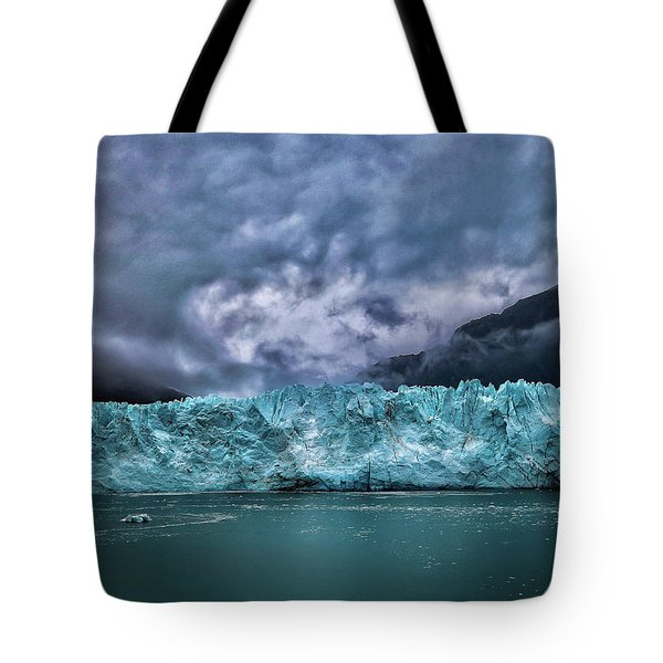 Tote Bag featuring the photograph Glacier by Lucian Capellaro