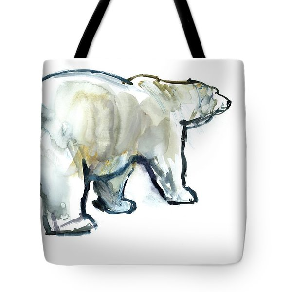 Glacier Mint Tote Bag by Mark Adlington