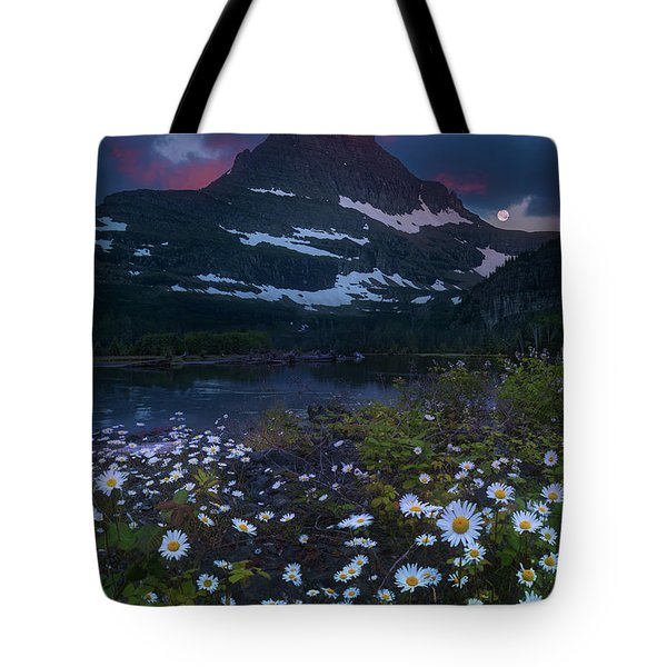 Tote Bag featuring the photograph Glacier National Park At Dawn by William Lee