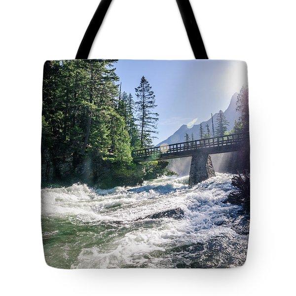 Glacier National Park Beauty Tote Bag