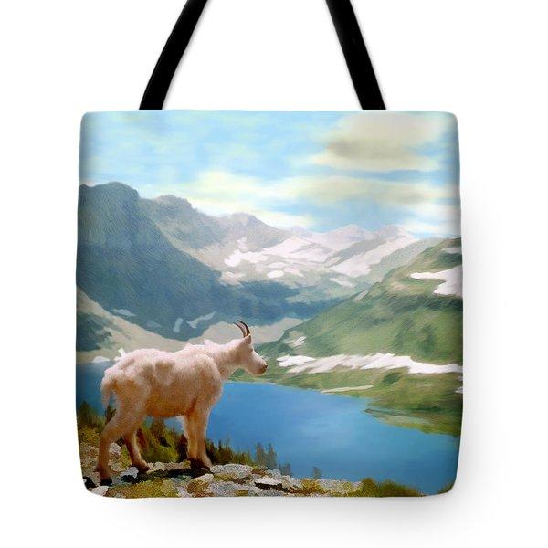 Glacier National Park Tote Bag by Kurt Van Wagner