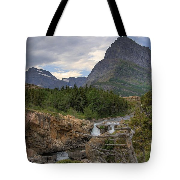 Glacier National Park Landscape Tote Bag