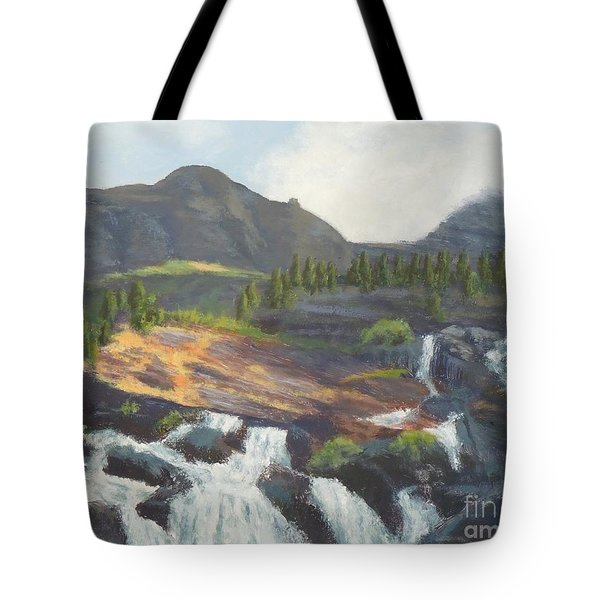 Glacier National Park V Tote Bag