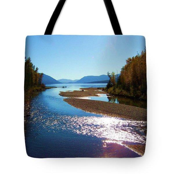 Glacier Park 9 Tote Bag
