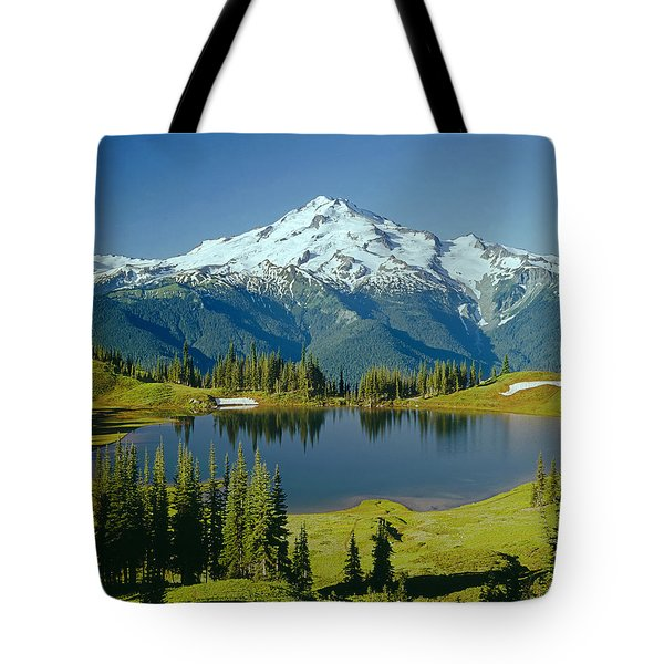 Tote Bag featuring the photograph 1m4422-glacier Peak, Wa  by Ed  Cooper Photography