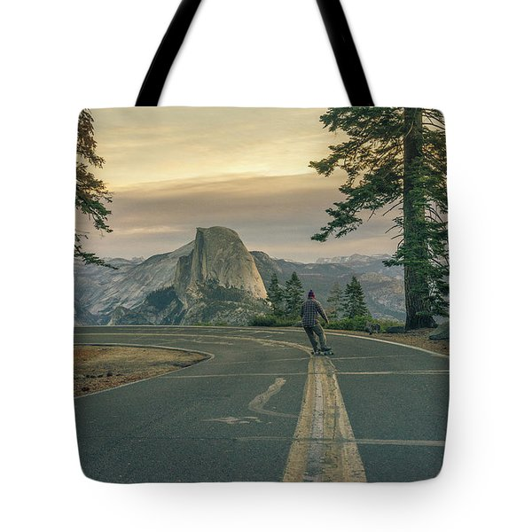 Glacier Point Adventure Tote Bag