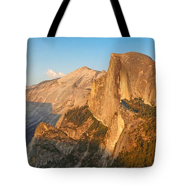 Glacier Point Panorama Tote Bag