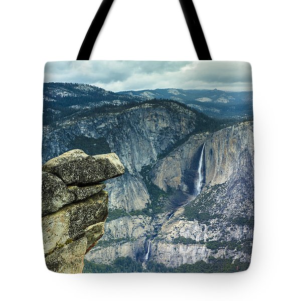 Glacier Point Yosemite Tote Bag