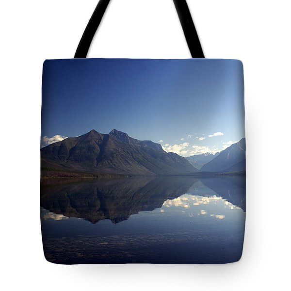 Glacier Reflections 2 Tote Bag by Marty Koch