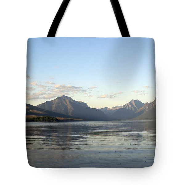 Glacier Reflections 3 Tote Bag by Marty Koch