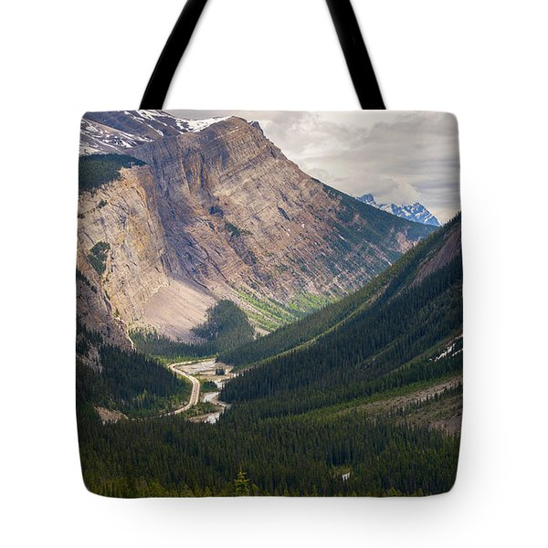 Glacier Road Tote Bag