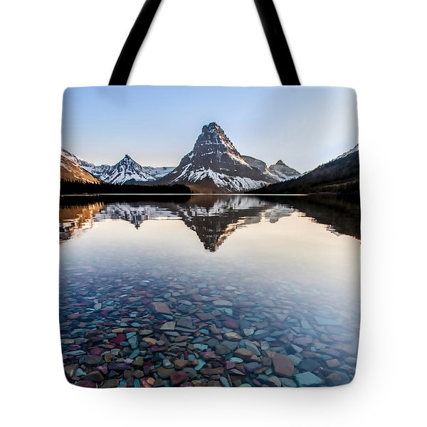 Tote Bag featuring the photograph Glacier Skittles by Aaron Aldrich