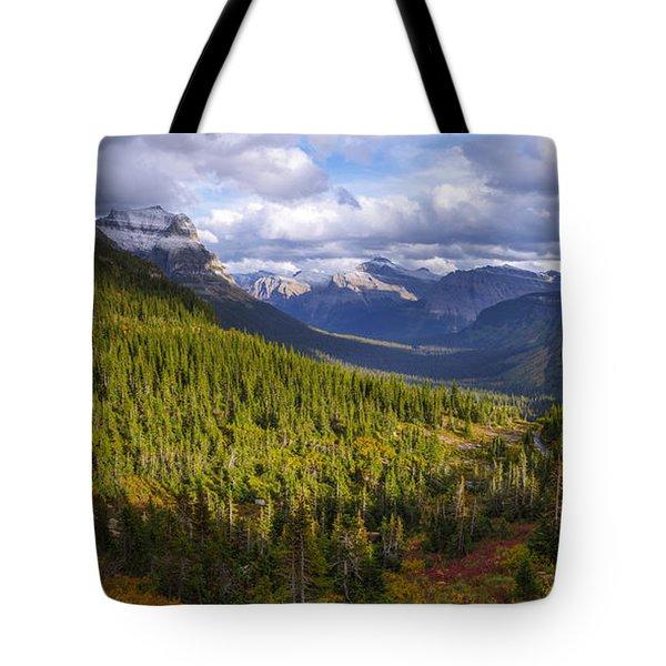 Glacier Storm Tote Bag