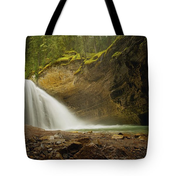 Glacier Waters Tote Bag