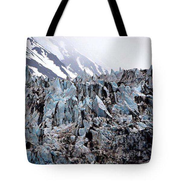 Glaciers Closeup - Alaska Tote Bag